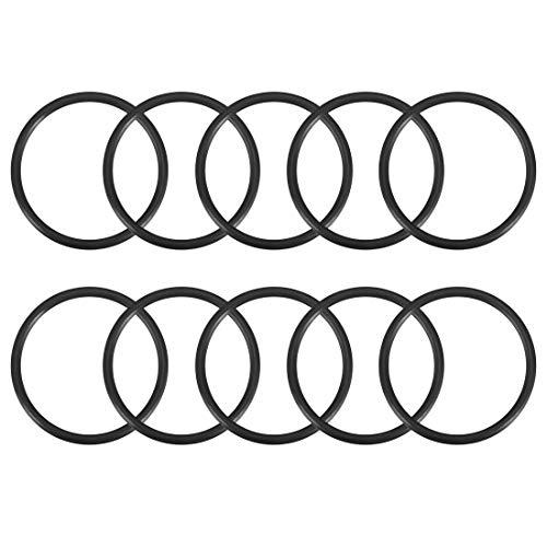 Sourcingmap O-Ringe aus Nitrilkautschuk, 24 mm Innendurchmesser, 28 mm Außendurchmesser, 2 mm Breite, runde Dichtung, 10 Stück - O-ring-dichtung