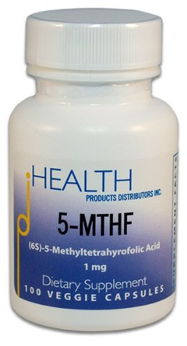 5-MTHF (1 mg) (100 vcaps)