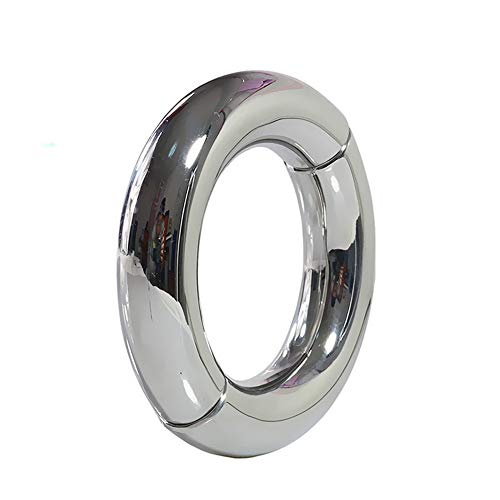Männlich Metall Penisring Magnet Öffnen und Schließen Sicherungsring -