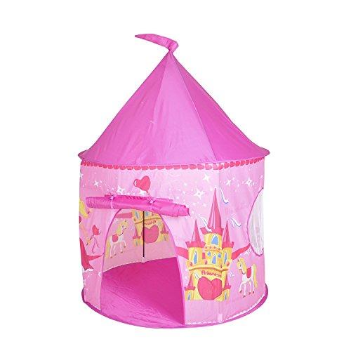 Knorrtoys 55606 - Tienda de campaña para jugar, diseño de princesa Zoe, color rosa