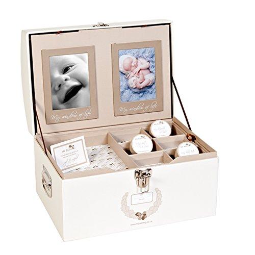 Mybabylog Aufbewahrungsbox, Baby-Andenken-Box für Mädchen und Jungen