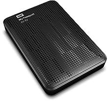 WD My Passport AV-TV Storage per TV HD da 1 TB, USB 3.0 e USB2 2.0, Supporto Comandi ATA-7 AV, Nero