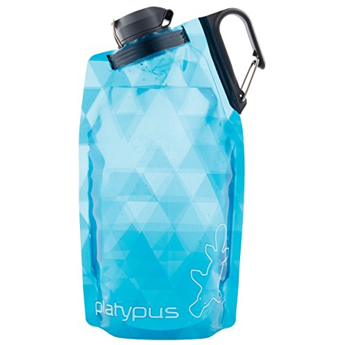 Platypus DuoLock SoftBottle 1000ml Blue prisms 2019 Trinkflasche -