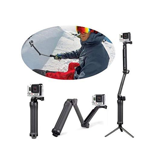 ALIKEEY Zubehör 3-Fach verstellbare Halterung Handgriff-Arm-Action-Kamerahalterung für GoPro Hero 4 5 6 7