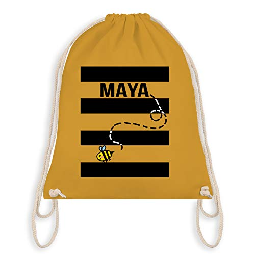 (Karneval & Fasching - Bienen Kostüm Maja - Unisize - Senfgelb - WM110 - Turnbeutel & Gym Bag)