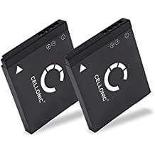 2x subtel® Batteria premium per Panasonic Lumix DMC-FT30 -FT25 -FT20, DMC-FS40 -FS41 -FS45 -FS35 -FS28 -FS22 -FS16, DMC-SZ7 -SZ5 -SZ1, DMC-FX90 FX77 -FX78 -FX80, DMC-S1 -S2 -S3 -S5, DMC-TS20 -TS25 -TS45, DMC-FH2, DMC-FP7 (700mAh) DMW-BCK7,NCA-YN101H Batterie di ricambio, accu sostituzione, sostituto