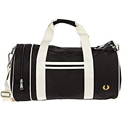 Fred Perry homme barrel sac de sport nero