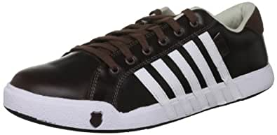 K-Swiss NEWPORT II 02944-282-M, Herren Trainers, Braun (Sturdy Brown/White), EU 41 (UK 7)