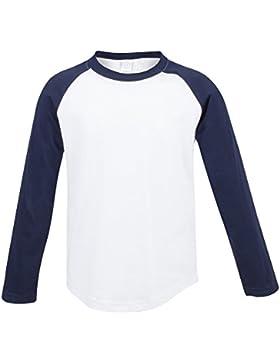 Skinni Minni - Baseball - Maglietta maniche lunghe - Bambini/Ragazzini