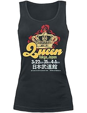Queen Tokyo Japan Top Mujer Negro