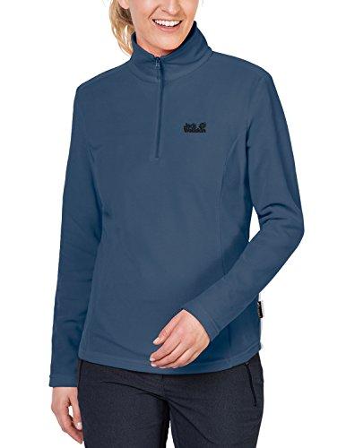 Jack Wolfskin Damen Gecko Fleecepullover, blau (ocean wave), XL North Face Mountain Light Jacket