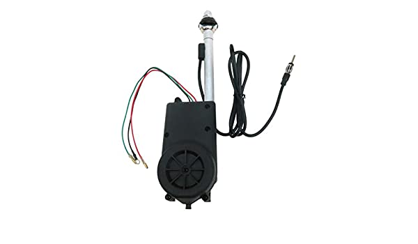 "Chrome Upgrade fits 1968 Oldsmobile Cutlass /""Ram-Rod/"" 350 AutoLoc Power Accessories 649255 Power Antenna"