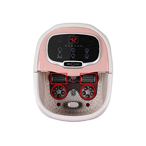 Jet Foot Spa (3-In-1-Fuß-Spa/Badmassagegerät Mit Wärmeblasen Jet 2-Massagerollen-Pediküre Mit Salzen Und Ölen Für Müde Füße)