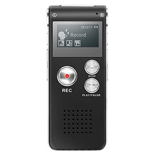 Grabadora Voz Digital Multifuncional Portátil Recaegable