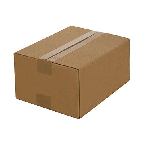 50 Faltkartons 400 x 300 x 200 mm, Verpackung Versand Schachtel aus Wellpappe Karton Kiste Postversand