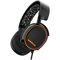 SteelSeries Arctis 5, Casque Gaming, Illumination RGB, DTS 7.1 Surround pour PC, PC/Mac/PlayStation 4/Android/iOS/VR - Noir