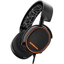 SteelSeries Arctis 5, Casque Gaming, Illumination RGB, DTS 7.1 Surround pour PC, PC / Mac / PlayStation 4 / Android / iOS / VR - Noir