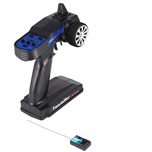 ForceSthrength GoolRC Racing 2.4G 2CH RC Radio Control Remote Controller Transmitter Receiver (Boat Gas Control Radio)