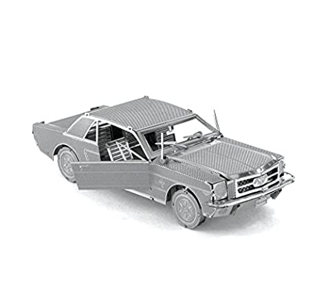Metal Earth - Fascinations, 1965 Ford Mustang 3D metal puzzle,