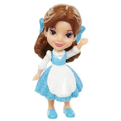 My First Disney Princess Mini Toddler Blue Dress Belle Poseable ()
