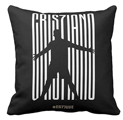 Pillow pillow Cuscino Personalizzato 40X40 Meme Tributo Cristiano Ronaldo Juventus ACQUISTO CR7 Juve Divano Arredamento Idea Regalo