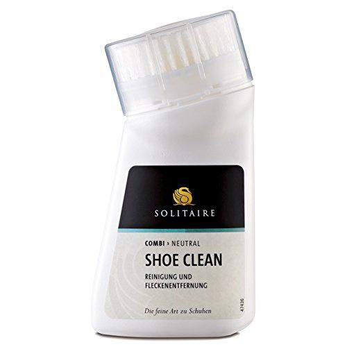 Solitaire Shoe Clean - Reinigung und Fleckentfernung für Schuhe mit Bürste