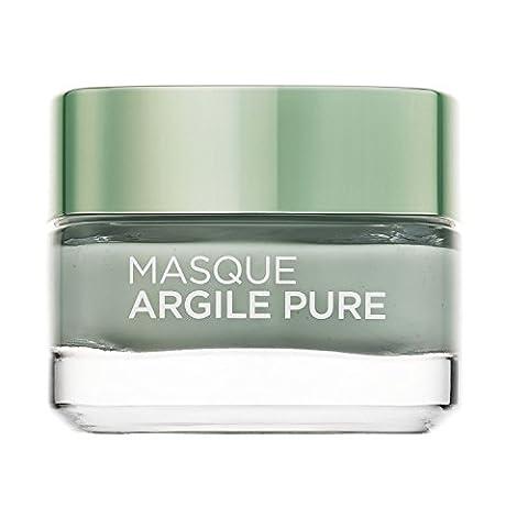 L'Oréal Paris Masque Visage Purifiant Matifiant à l'Argile/À L'eucalyptus 50