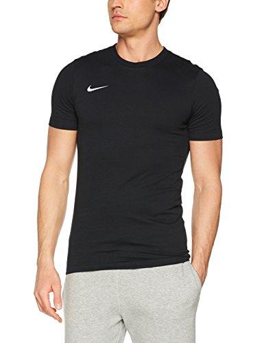 Nike Herren Team Club T-Shirt, Black/White, S -