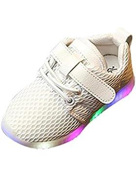 Ouneed ® Moda 1-5.5 años bebé niños niñas LED zapatos luz hasta instructores luminosos niños corriendo zapatillas...