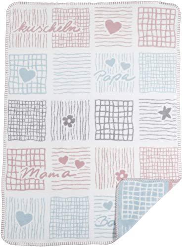 Manta para bebé hecha de 100% algodón orgánico - manta de punto...