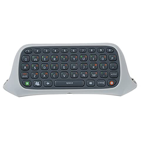 SODIAL(R) Clavier Keyboard Chatpad Sans Fil pour Manette Microsoft Xbox