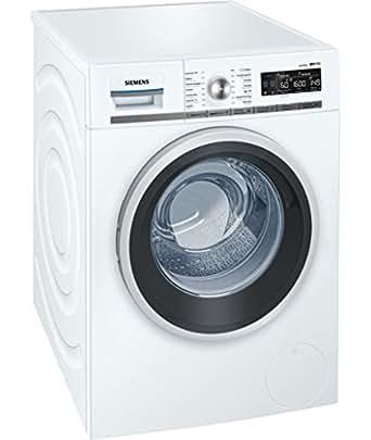 Siemens WM16W642FG Autonome Charge avant 9kg 1600tr/min A+++ Blanc machine à laver - machines à laver (Autonome, Charge avant, Blanc, Rotatif, Gauche, LED)