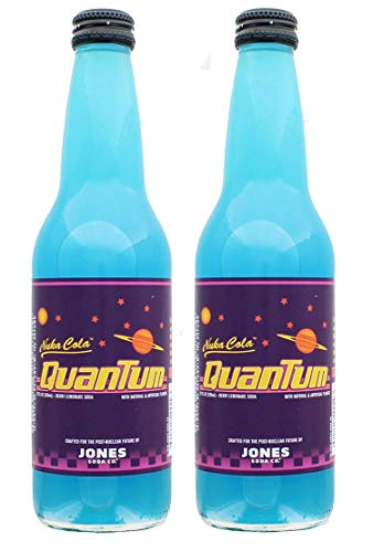 Preisvergleich Produktbild Jones Soda Fallout Nuka-Cola Quantum Official Berry Flavored Drinks / 2 Pack
