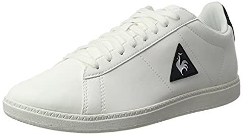 Le Coq Sportif Courtset S Lea, Baskets Basses Mixte Adulte, Blanc (Optical White/Dress), 42 EU