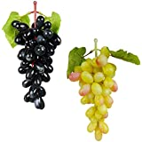 Reiki Crystal Products Feng Shui Black & Green Artificial Grapes