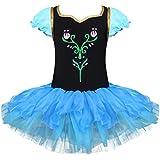 iiniim Girls Princess Fancy Halloween Costume Dress Up Ballet Dance Tutu Leotard Cosplay