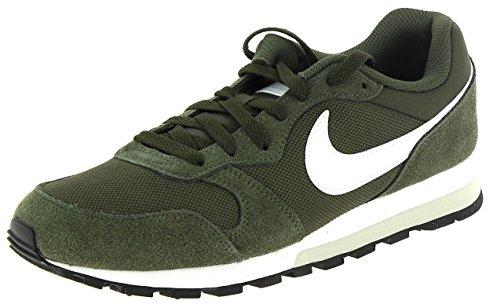 rren Gymnastikschuhe, Grün (Cargo Khaki/Bianco/Light Bone 301), 44.5 EU (Nike Schuhe Laufen Männer Weiß)