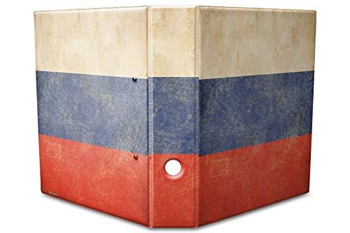 Archivador A4 Carpeta 2 anillas 60mm impreso Rusia
