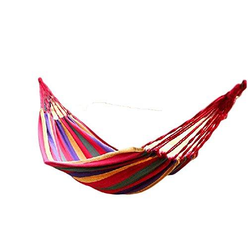 SEABECCA Schlafmatte Outdoor Reise Camping Unten Baumwolle Pad , medium blue - Single Rope Swing