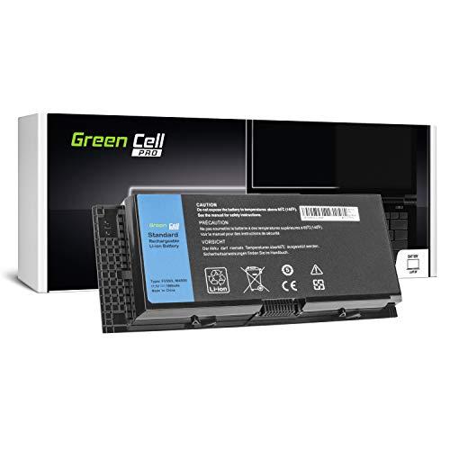 Green Cell® PRO Serie FV993 R7PND X57F1 Laptop Akku für Dell Precision M4600 M4700 M4800 M6600 M6700 M6800 (Original Samsung SDI Zellen, 9 Zellen, 7800mAh, Schwarz) (Akku Laptop M6600 Dell)