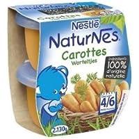 Nestlé naturnes carottes 2x130g dès 4/6 mois