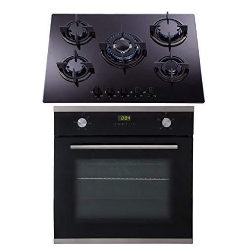 Caterlite Induction Hob in Black Made of Stainless Steel Power 2000W