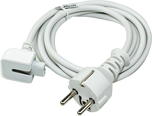 Apple Stromkabel fuer alle  Apple Netzteile Apple MacBook MagSafe,PowerBook,PowerBook Pro 15zoll 17zoll ,G4,iBook,iPhone,ipod A1222 A1184  MA938 Powerbook G3 G4 usw. (Mac Netzkabel A1184)