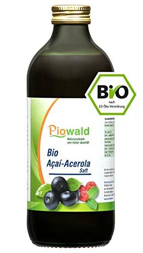 BIO Acai-Acerola Saft - 500 ml | Vegan und Lactosefrei