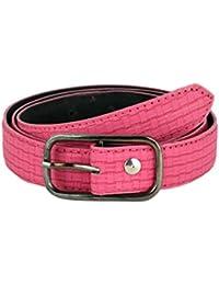 Tiekart women pink belt
