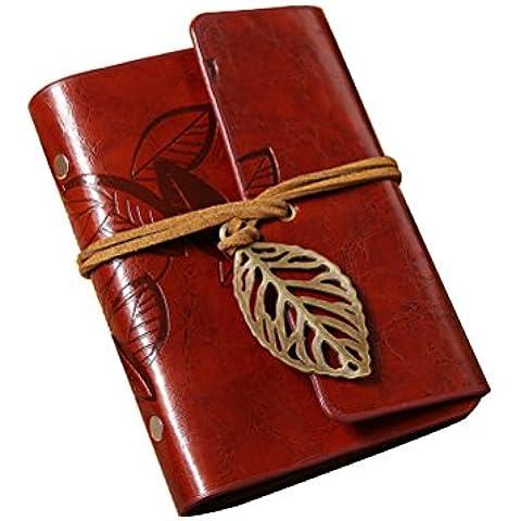 PIXNOR Tarjeta Pantalla Juego de diseño de hojas de piel sintética tarjeta Fundas soporte tarjeta Protector Bolsa