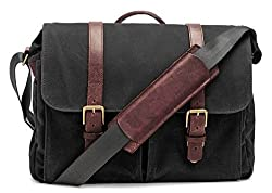 Ona Brixton Messenger Bag Black