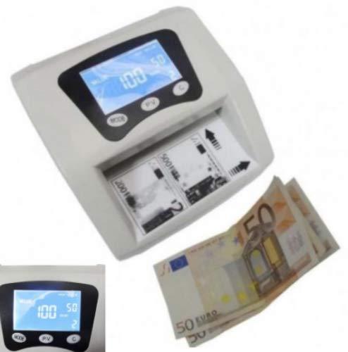 DOBO Rileva banconote false soldi falsi rilevatore portatile conta euro EUR money detector denaro controllo contraffazione display