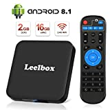 Leelbox TV Box Android 8.1【2GB+16GB】 Q2 Minis Boîtier TV 4K × 2K UHD H.265 /...