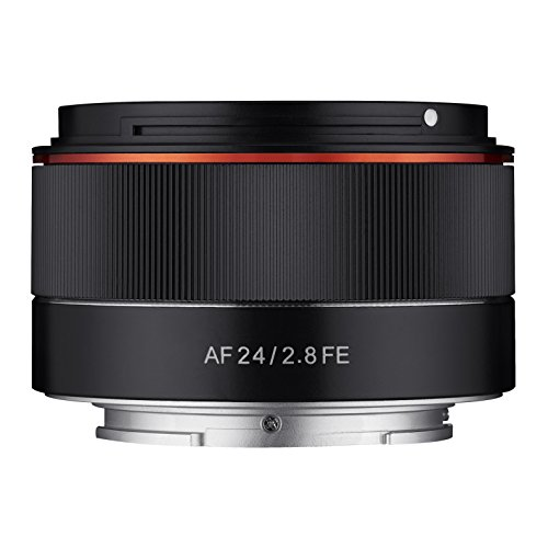 Samyang-AF-24mm-F28-FE-Tiny-but-Wide-Vollformat-24mm-Weitwinkel-Festbrennweite-Autofokus-Objektiv-fr-Sony-E-FE-E-Mount-fr-Sony-A9-A7-A6500-A6300-A6000-A5100-A5000-Nex-Kameras